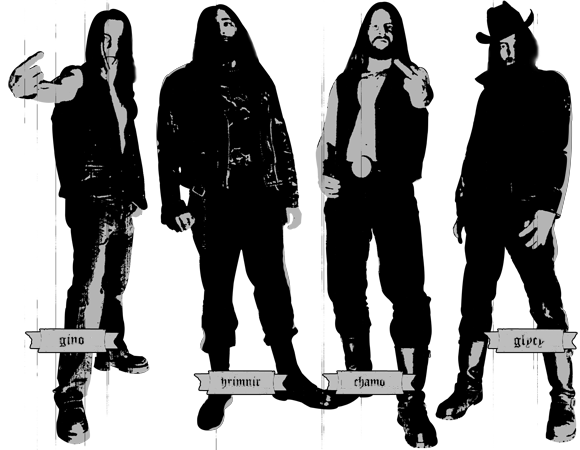 Gronde French Black Metal - Lineup